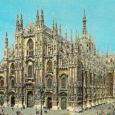 Postales: MILANO, IL DUOMO - ED. LUIGI - SIN CIRCULAR. Lote 34692527