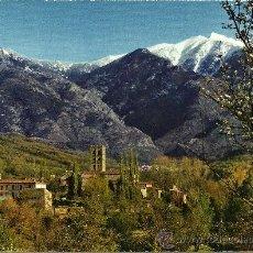 Postales: AUX ENVIRONS DE PRADES - L'ABBAYE ST. MICHEL DE CUXA - ESCRITA. Lote 34707315