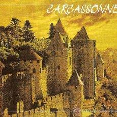 Postales: CARCASSONNE (AUDE) LA PORTE D'AUDE AVEC SES REMPARTS - AS DE COEUR - SIN CIRCULAR. Lote 34901936