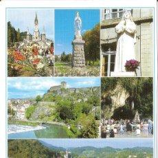 Postales: LOURDES, VISTA GENERAL - ED. A. DOUCET - SIN CIRCULAR. Lote 34976672