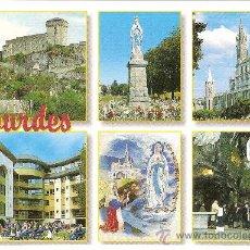 Postales: LOURDES, VARIAS VISTAS - EDIT. A. DOUCET - SIN CIRCULAR. Lote 34976694