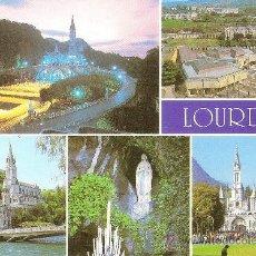Postales: LOURDES, LOS SANTUARIOS - ED. A. DOUCET - SIN CIRCULAR. Lote 34976698