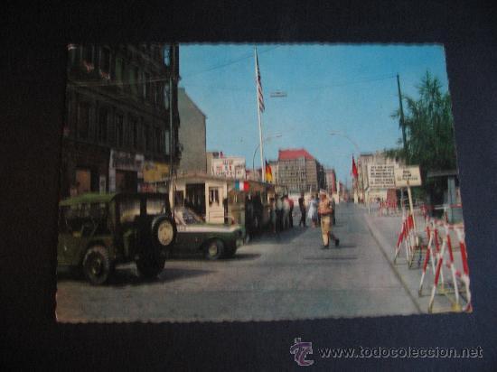 BERLIN.CHECKPOINT CHARLIE 1967 (Postales - Postales Extranjero - Europa)