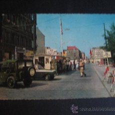 Postales: BERLIN.CHECKPOINT CHARLIE 1967. Lote 35056741