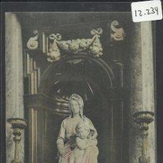 Postales: BRUGES - LA VIERGE - SERIE11 - Nº 20 - EDITEUR ALBERT SUGG - (12.234) . Lote 35065479
