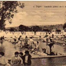 Postales: PORTUGAL. LAGOS. 51. LAVADOIRO PUBLICO EM S. JOAO. ANTONIO C. DOS SANTOS. CIRCULADA.. Lote 35191462