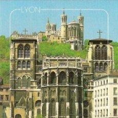 Cartes Postales: LYON, CATEDRAL DE SAN JUAN - PHOTO J.BOZON - SIN CIRCULAR. Lote 35317383