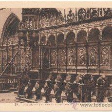 Postales: STALLES DE SAINT-BERTRAND-DE-COMMINGES, PRÈS LUCHON.. Lote 35355355