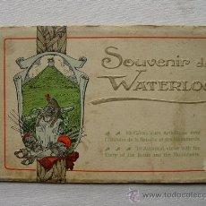 Postales: (BL-8) BLOC WATERLOO. BELGIQUE. BELGICA. CIRCA 1910.. Lote 35362299