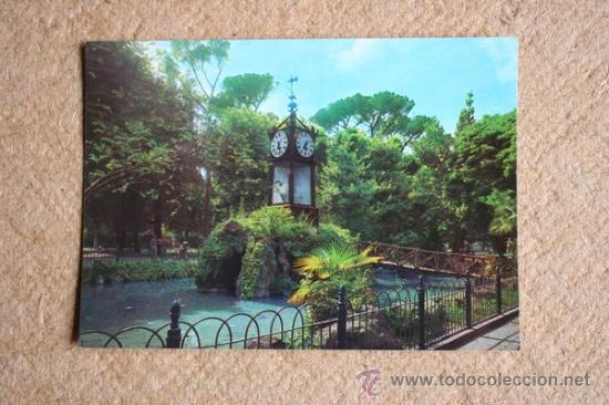 Postal roma villa borghese orologio ad acqua comprar postales
