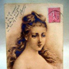 Postales: ANTIGUA POSTAL, RHONE, FRANCIA, CIRCULADA, 10 CENTIMOS, 1905. Lote 35432015