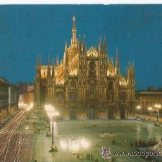 Postales: +-+ PW376 - POSTAL - MILANO - PIAZZA DUOMO - SIN CIRCULAR. Lote 35448597