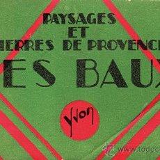Postales: PAYSAGES ET PIERRES DE PROVENCE. LES BAUX. YVON. . Lote 35678348