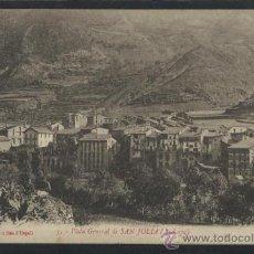 Postales: ANDORRA -5 - VISTA GENERAL DE SAN JULIA - ED. LA MARAVILLA - (13.406). Lote 35921504