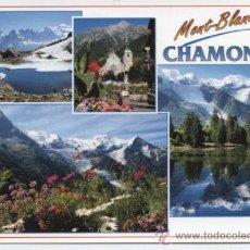 Postales: CHAMONIX . MONT BLANC . Lote 35934230
