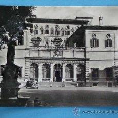 Postales: ANTIGUA POSTAL DE ITALIA. AÑOS 30 40. ROMA, GALLERIA BORGHESE. 356. . Lote 35955743
