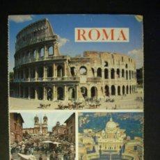 Postales: 912 ITALIA ITALY LAZIO ROMA ROME POSTCARD POSTAL AÑOS 70/80 - TENGO MAS POSTALES. Lote 35967993