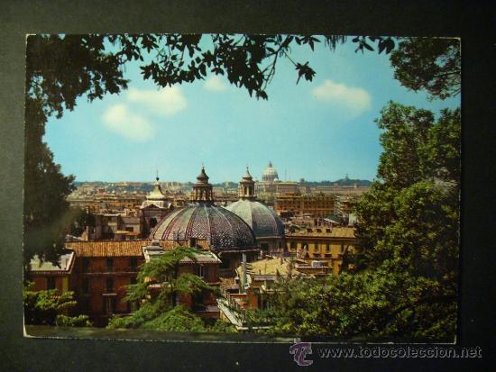 922 ITALIA ITALY LAZIO ROMA ROME PANORAMA POSTCARD POSTAL AÑOS 60/70 - TENGO MAS POSTALES (Postales - Postales Extranjero - Europa)