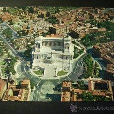 Postales: 933 ITALIA ITALY LAZIO ROMA ROME PANORAMA POSTCARD POSTAL AÑOS 60/70 - TENGO MAS POSTALES. Lote 35979326