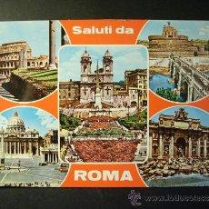 Postales: 937 ITALIA ITALY LAZIO ROMA ROME POSTCARD POSTAL AÑOS 60/70 - TENGO MAS POSTALES. Lote 35979447