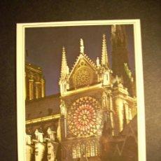 Postales: 1094 FRANCIA FRANCE PARIS CATEDRAL DE NOTRE DAME POSTCARD POSTAL AÑOS 60/70 - TENGO MAS POSTALES. Lote 35997389