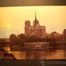 Postales: 1100 FRANCIA FRANCE PARIS NOTRE DAME POSTCARD POSTAL AÑOS 60/70 - TENGO MAS POSTALES. Lote 35997622