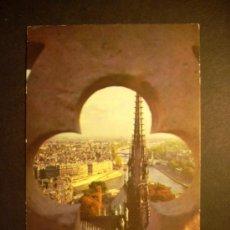 Postales: 1105 FRANCIA FRANCE PARIS VISTO DESDE TORRE NOTRE DAME POSTCARD POSTAL AÑOS 60/70 TENGO MAS POSTALES. Lote 35997858