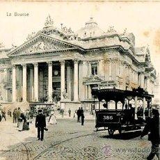 Postales: 9 POSTALES. BRUSELAS. UNION POSTALE UNIVERSELLE. SIN DIVIDIR.. Lote 36002456