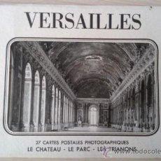 Postales: VERSAILLES (VERSALLES) 27 CARTES POSTALES PHOTOGRAPHIQUES (LE CHATEAU - LE PARC - LES TRIANONS). Lote 36060233