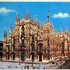 Postales: ITALIA. MILAN. MILANO. IL DUOMO.. Lote 134809051