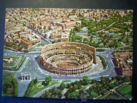 2448 ITALIA ITALY LAZIO ROMA ROME COLISEO COLOSSEO POSTCARD POSTAL AÑOS 60/70 - TENGO MAS POSTALES (Postales - Postales Extranjero - Europa)