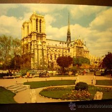 Postales: 2508 FRANCIA FRANCE PARIS NOTRE DAME POSTCARD POSTAL AÑOS 60/70 CIRCULADA - TENGO MAS POSTALES. Lote 36180514