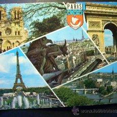 Postales: 2509 FRANCIA FRANCE PARIS POSTCARD POSTAL AÑOS 60/70 CIRCULADA - TENGO MAS POSTALES. Lote 36180550