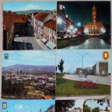 Postales: LOTE DE 6 POSTALES DE PORTUGAL AÑOS 70 DOS DE MADEIRA DE REGALO. Lote 36648227
