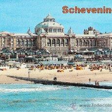Postales: SCHEVENINGEN (HOLANDA), LA PLAYA - SIN CIRCULAR. Lote 36721633