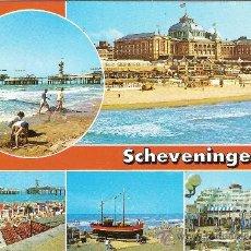 Postales: SCHEVENINGEN (HOLANDA), LA PLAYA, VARIAS VISTAS - SIN CIRCULAR. Lote 36721639