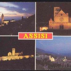 Postales: POSTAL DE ASSISI (ITALIA) - (SIN CIRCULAR). Lote 36885390