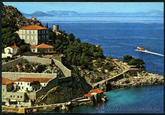 POSTAL DE GRECIA ( LA MANSION DE LA FAMILIA KOUNTOURIOTIS ) (Postales - Postales Extranjero - Europa)