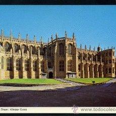 Postales: POSTAL DE GRAN BRETAÑA ( WINDSOR ST. CAPILLA DE GEORGE. CASTILLO DE WINDSOR ) . Lote 36824367