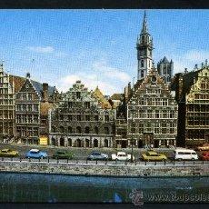 Postales: POSTAL DE BELGICA ( BRUSELAS - MUELLE CON HIERBAS ) . Lote 36826429
