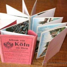 Postales: ALEMANIA , ALBUM ANTIGUO DE KÖLN ( COLONIA) Y EL RHIN.. Lote 36864815