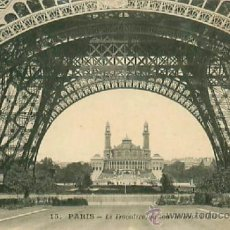 Postales: PARIS TOUR EIFFEL. Lote 36928653