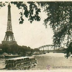 Postales: PARIS TOUR EIFFEL. Lote 36956316
