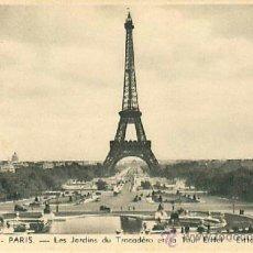 Postales: PARIS TOUR EIFFEL. Lote 36956340