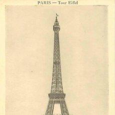 Postales: PARIS TOUR EIFFEL. Lote 36956764