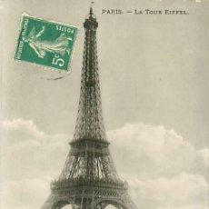 Postales: PARIS TOUR EIFFEL. Lote 36956785