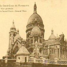 Postales: PARIS SACRE COEUR. Lote 36961153