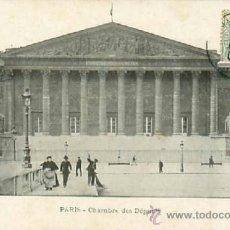 Postales: PARIS CHAMBRE DES DEPUTES. Lote 36961221