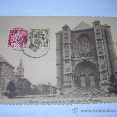 Postales: ANTIGUA POSTAL.....MONS.....BELGICA.. Lote 37089039