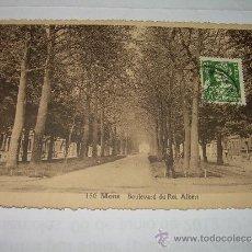 Postales: ANTIGUA POSTAL.....BELGICA.....MONS. Lote 37089357